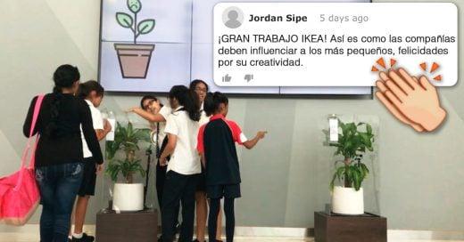 Cover IKEA invita a niños a hacerle bullying a una plantita hasta que muere