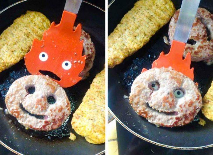 cuchara para panqueques