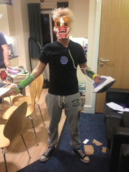 cosplay barato de ironman