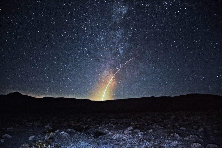 foto cielo nocturno estrellado