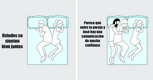 Cover La posición en la que duermes con tu pareja