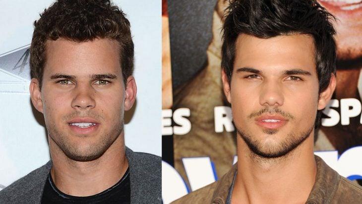 Kris Humphries y Taylor Lautner