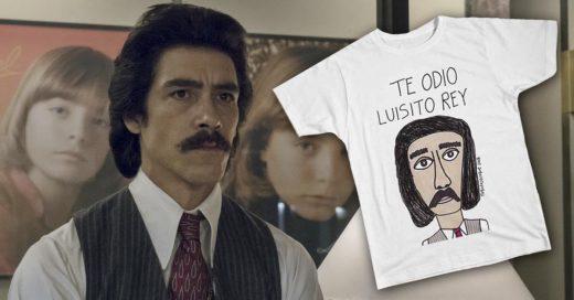 Cover Te odio Luisito Rey playera