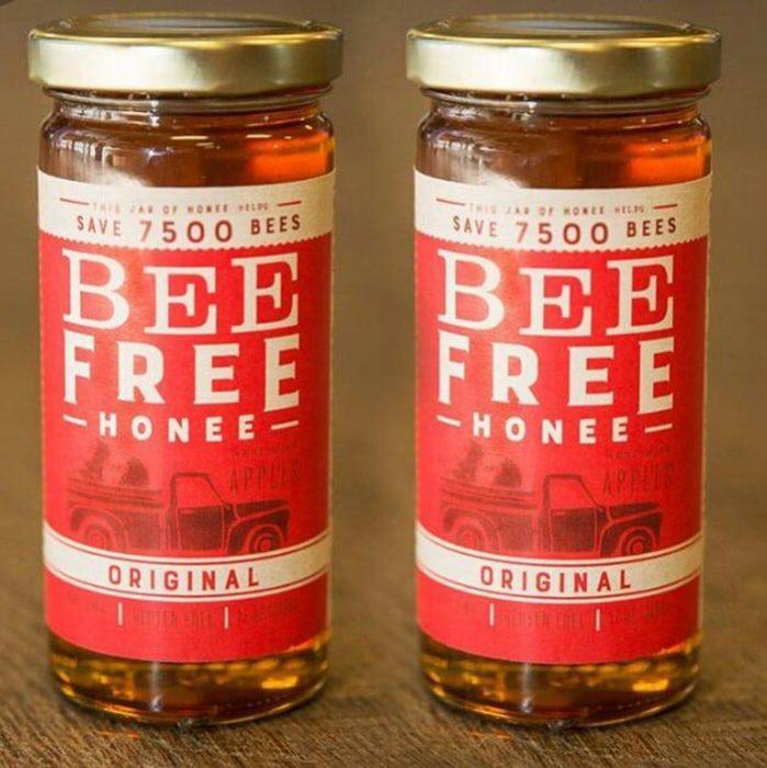 frascos de miel