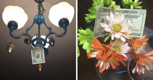 Cover Este divertido padre esconde dinero en casa de su hija cuando la visita