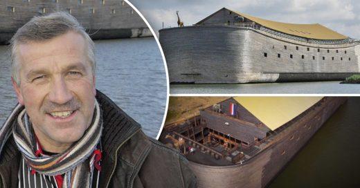 Cover Multimillonario lleva 20 años construyendo una Réplica del arca de Noé