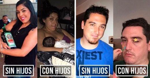 Cover Antes y después de tener hijos