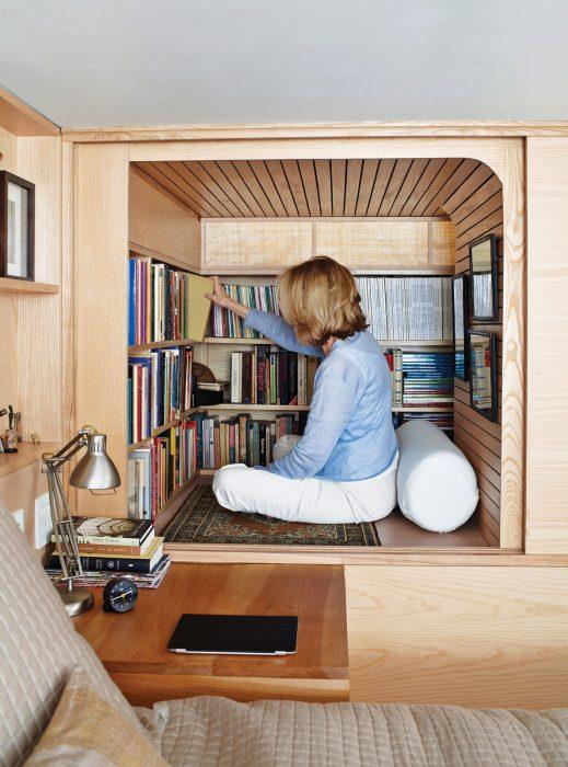 cubo librero miniatura