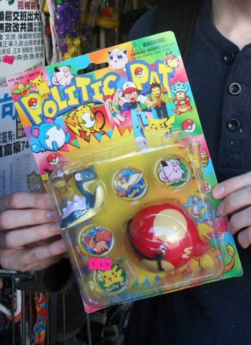 juguete de pokémon pirata