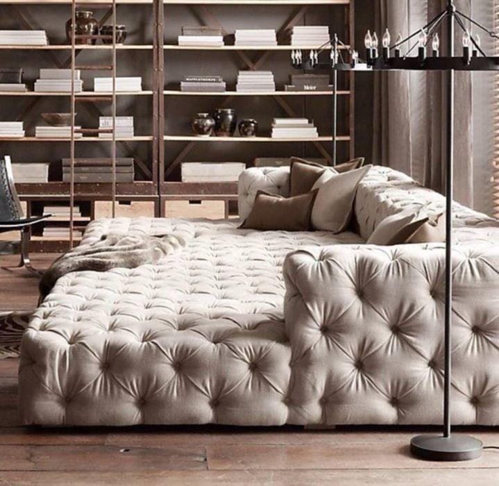 sillón gigante elegante