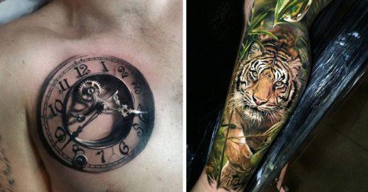 Cover Tatuajes realistas