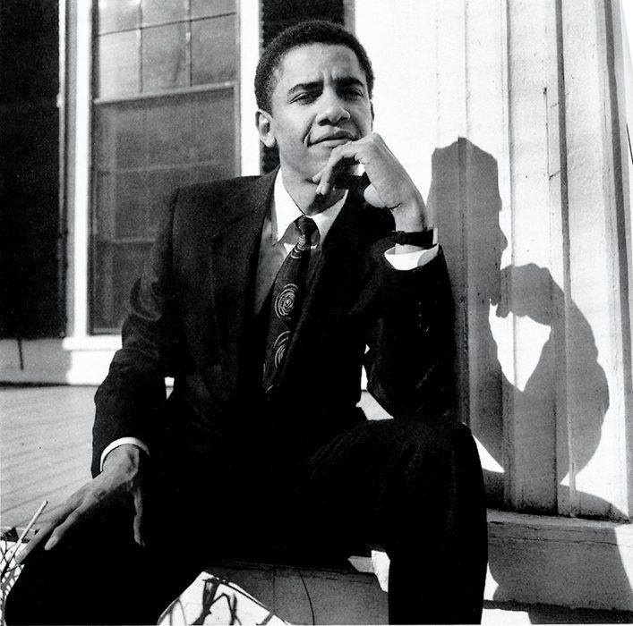 Barack Obama de 28 años en su primera aparición en Vanity Fair