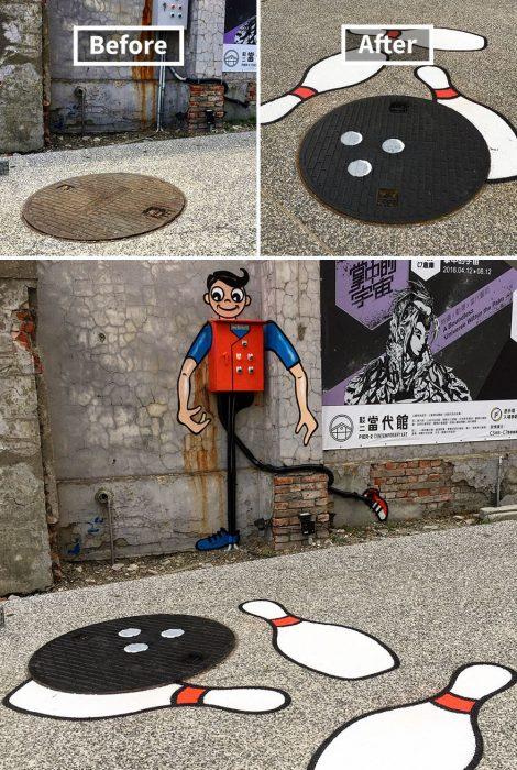 Crea arte divertido con objetos comunes