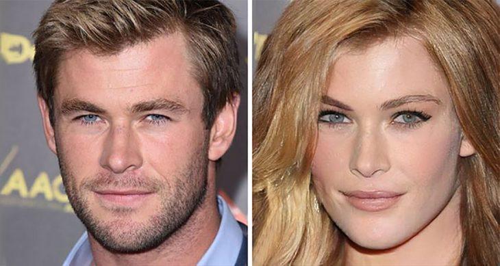 Chris Hemsworth de mujer