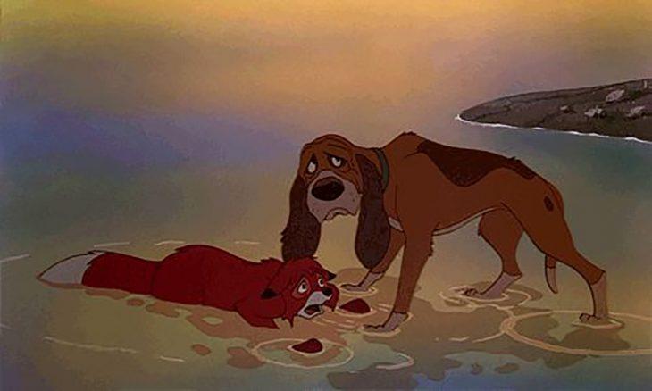 Toby salva a Tod - El zorro y el sabueso