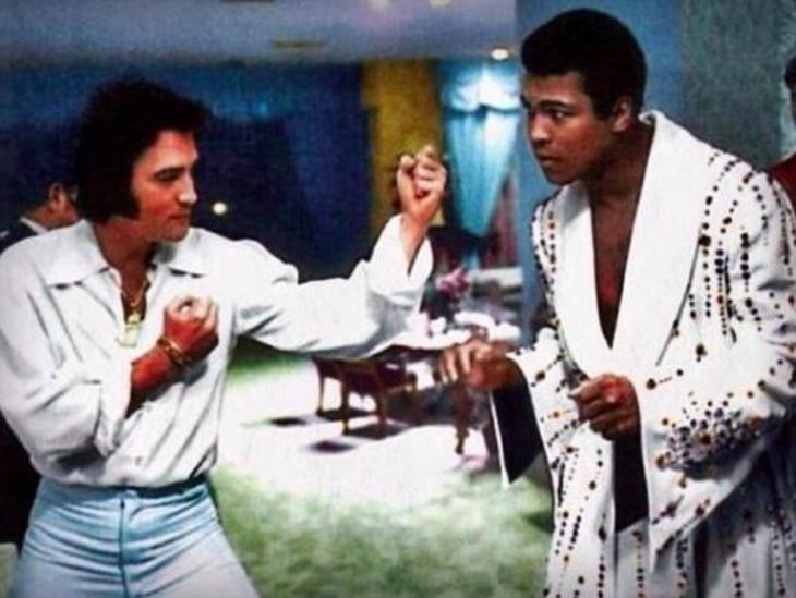 Elvis y Muhammad Ali, 1973
