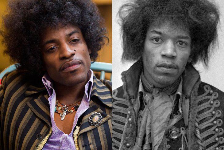Jimi Hendrix y André Benjamin