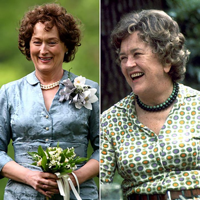 Julia Child y Meryl Streep