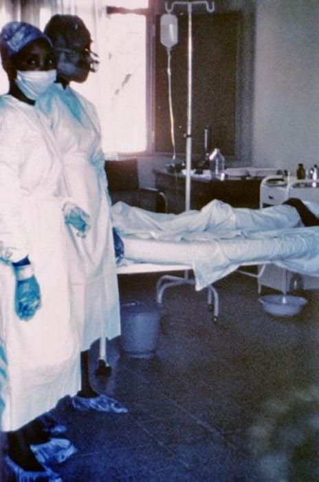 enfermera africana