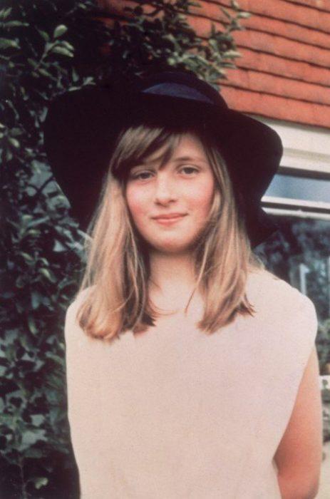 Princesa Diana a la edad de 10 años, 1971