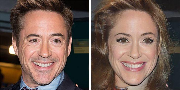 Robert Downey Jr. de mujer