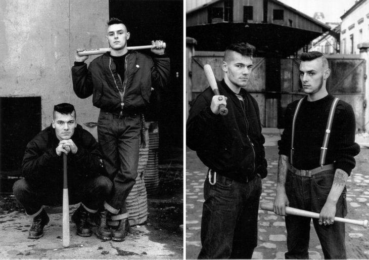 """""""Guerreros rojos"""", una grupo francés que se dedicaba a combatir neonazis"""
