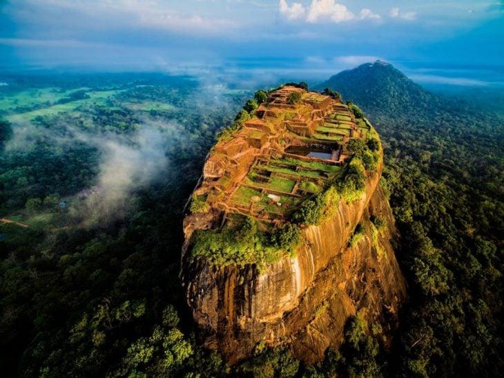 Ruinas de la ciudad antigua de Sigiriya, Sri Lanka