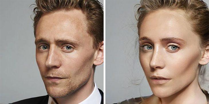 Tom Hiddleston de mujer