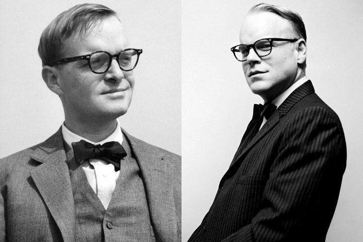 Truman Capote y Philip Seymour Hoffman