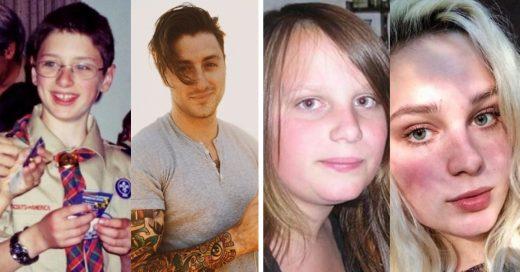 Cover Personas que muestran su increíble cambio desde la adolescencia