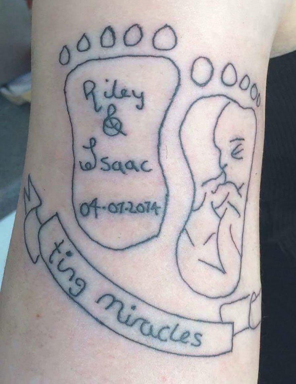 Tattoo Pies De Bebe Wwwimagenesmycom