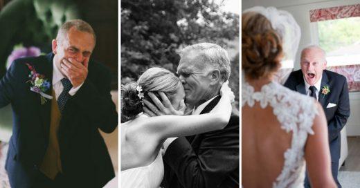 Cover Ven a sus hijas con vestido de novia