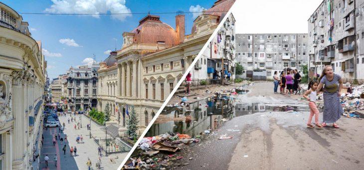Bucarest, Rumania, lo bonito y lo feo