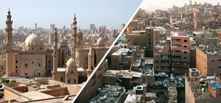 lo bonito y lo feo de El Cairo, Egipto