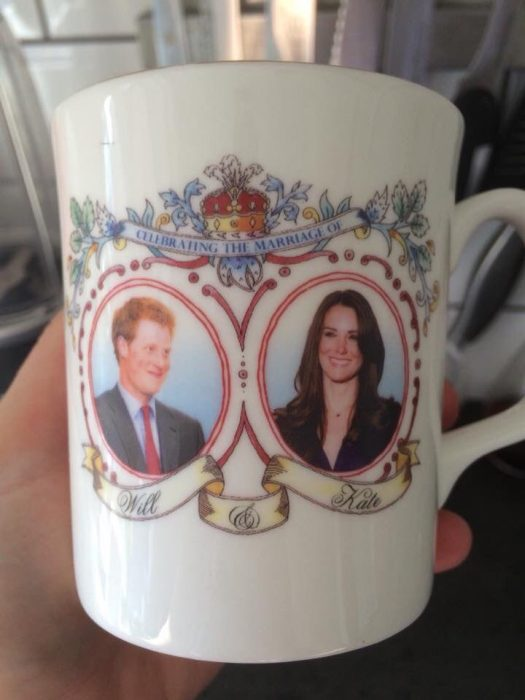 taza de kate middleton y harry