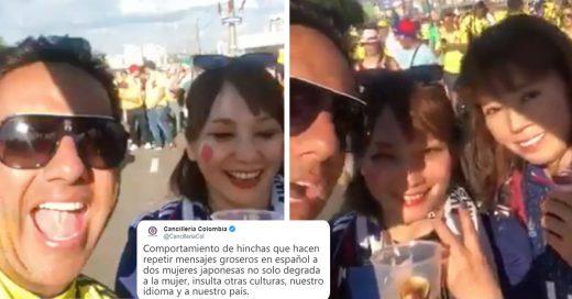 Cover Fanáticos colombianos acosan verbalmente a hincha japonesa en Rusia