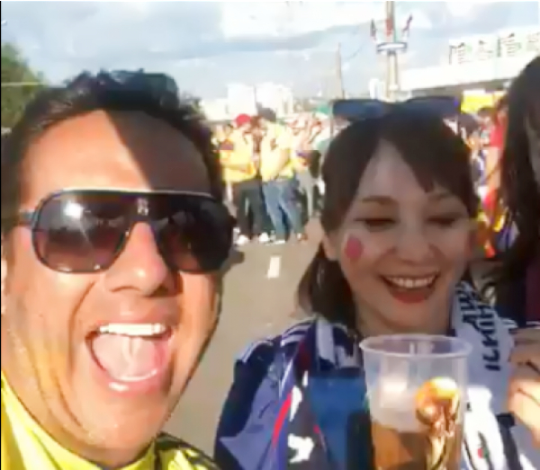 colombiano ofende a japonesa
