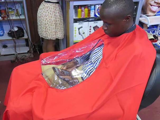 cortarse el cabelo