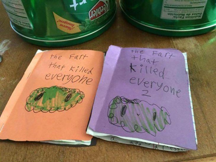 libros escritos por niños