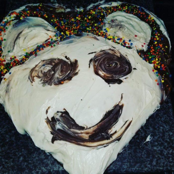 pastel de anda mal hecho