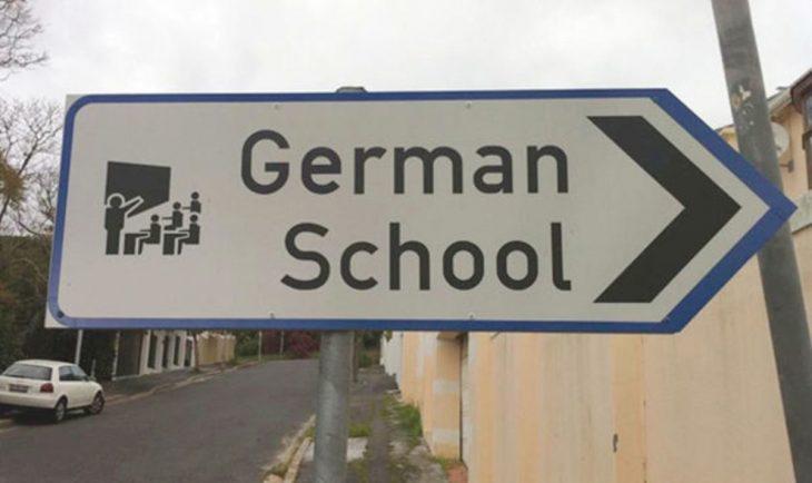 cartel de escuela alemana