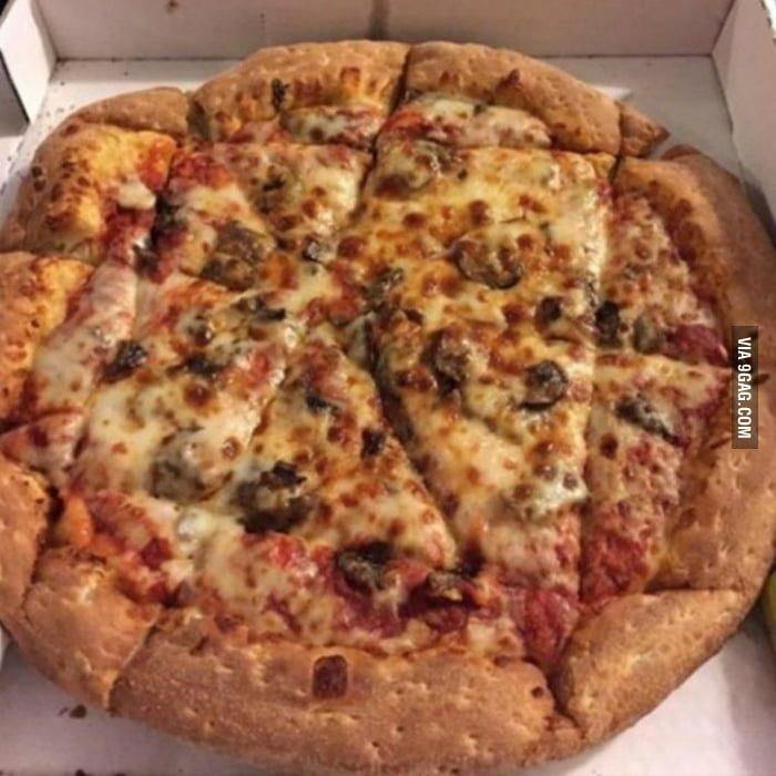pizzería que hace rebanadas feas