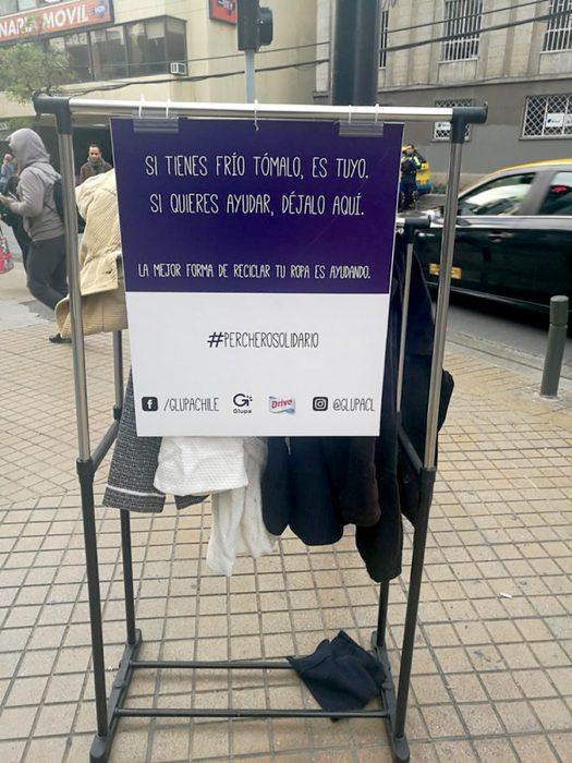 suéteres para los necesitados