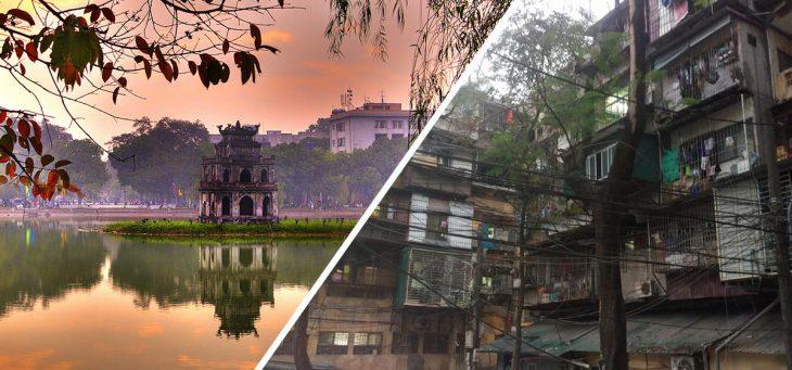 lo bonito y lo feo de Hanói, Vietnam