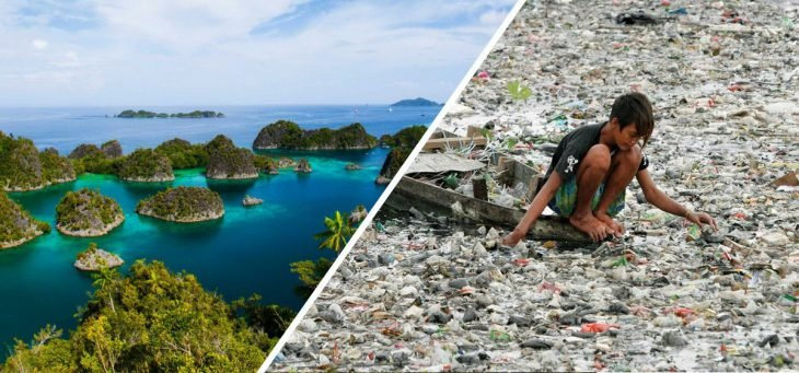 lo bonito y lo feo de Indonesia