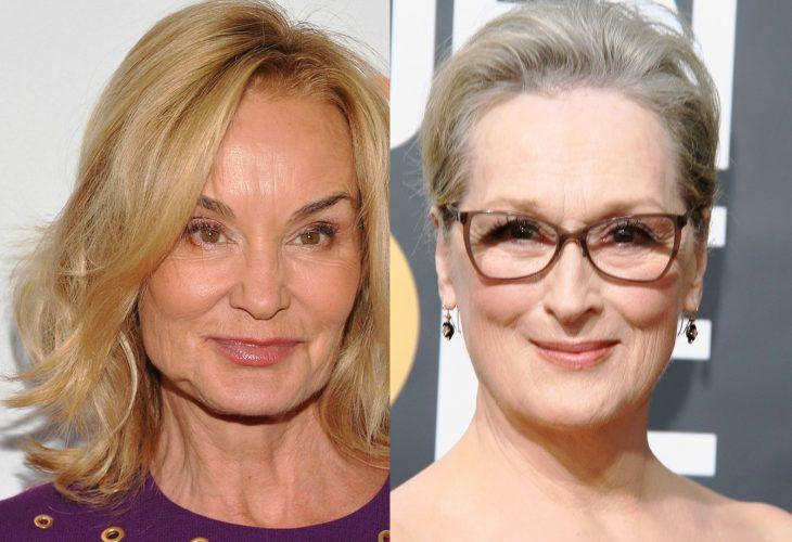 comparación entre Jessica Lange y Meryl Streep