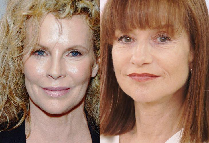 comparación entre Kim Basinger e Isabelle Huppert