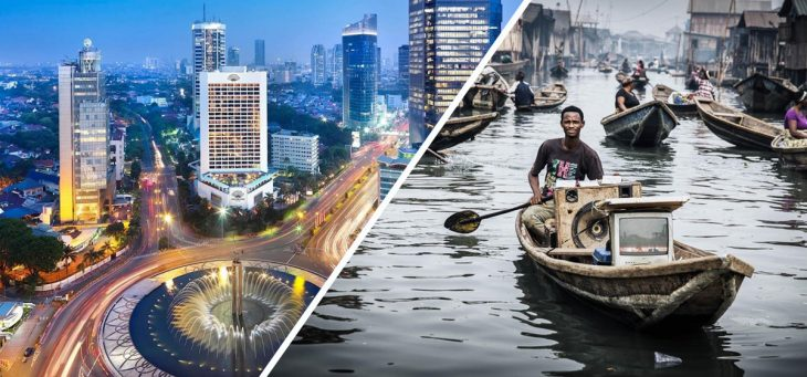 lo bonito y lo feo de Lagos, Nigeria