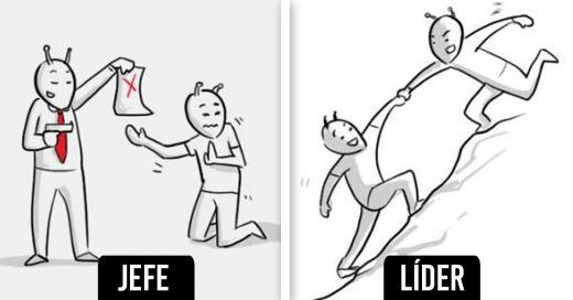 Cover Diferencias entre jefe y líder