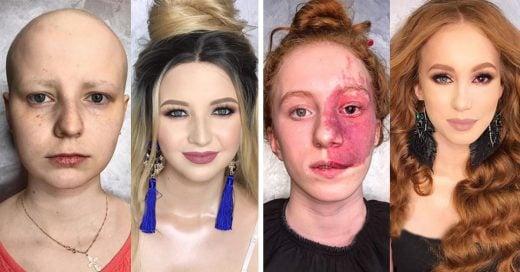 Cover increíbles cambios con maquillaje